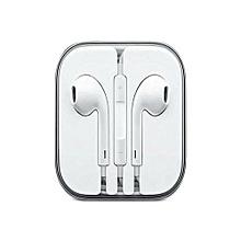 IPhone 6 / 6S / 6 Plus Earphones  with MIC- White