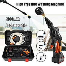Portable High Pressure Car Washer 20V Gun Pump Cleaning Washing Electric Device