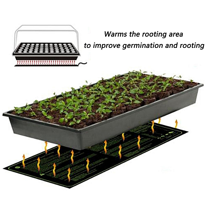 Seedling Heat Mat Hydroponic Seed Reptile Plant Heating Pad With Of Uk Plug