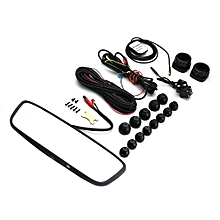 OR 8 WIFI Bluetooth 4G Rear Mirror Driving Recorder Dual Lens For Android 5.1'-black