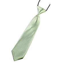 New School Boys Kids Children Baby Wedding Solid Colour Tie Necktie