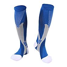 Unisex Men Women Leg Support Stretch Magic Compression Socks Sports Running  S/M