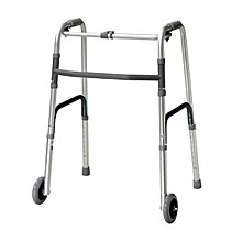 Foldable Walking Frame With Wheels
