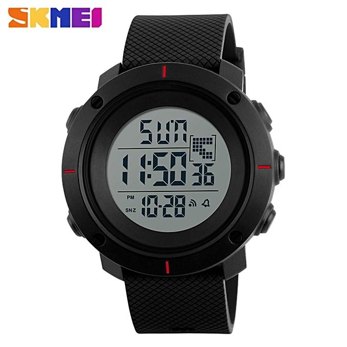 Skmei SKMEI Men Sport Watch Simple Digital Watches Double Time Countdown  Clock Minimalist Watch Waterproof Wristwatches Jam tangan lelaki 1213 WWD 7d1a2b94eb