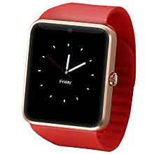 GT08 - Smart Watch Phone Camera MTK6261 Sleep Monitor 350mAh - Red