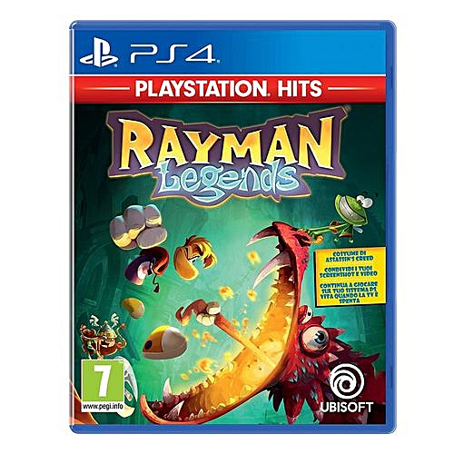 PS4 Game Rayman Legends PlayStation Hits