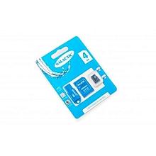 Memory Card-Micro SD + Superior Adapter - 4GB - Black