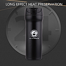 400ML Stainless Steel Thermos Cup Coffee Water Vacuum Bottle Travel Mug Bottle