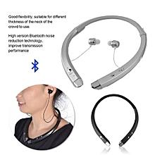 Neck Band Wireless Bluetooth 4.1 Headset Sports Earphone Anti-sweat Stereo Headphone Black