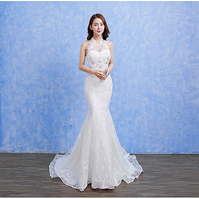 Buy Fashion Mermaid Wedding Dresses,Luxury Beaded Wedding