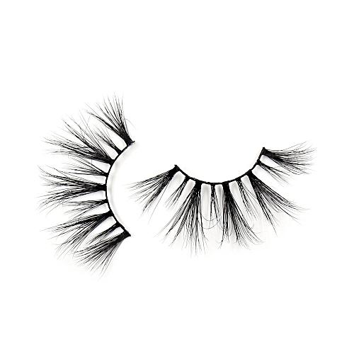 84eeacd980b Generic Eyelashes 3D Mink False EyeLuxury Large Criss-cross False Eyelashes  25mm Hand Made Fluffy Dramatic Lashes Makeup(G08)