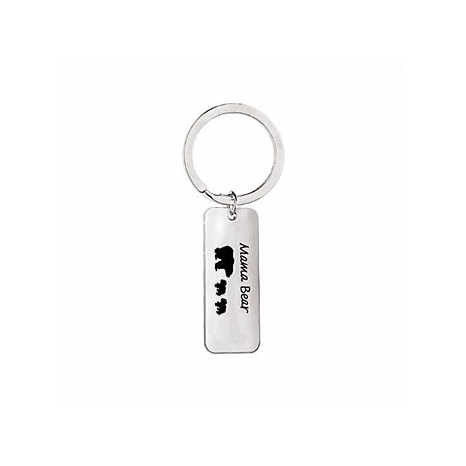 Fashion Family Series Jewelry Split Keyrings Key Chain For Women H02 ... dbdd996a46bb