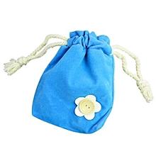 bluerdream-1x Finger Monkey Bags Portable Kids Play Storage Bag Toys Rug Box For Finger Monkey-Blue