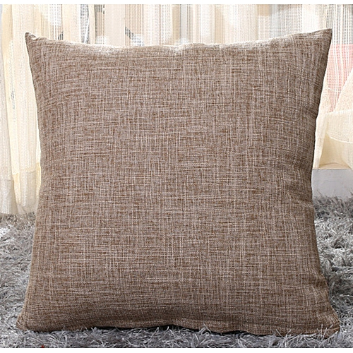 Brilliant Burlap Cushion Cover 40Cmx40Cm Sofa Square Back Cushion Cover Interior Design Ideas Tzicisoteloinfo