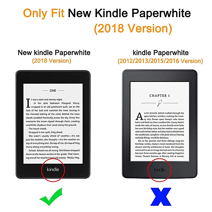 Case for All-New Kindle Paperwhite (10th Generation, 2018 Release) - Ultra  Slim Smart Case Auto Wake/Sleep Cover for Amazon Kindle Paperwhite 2018-#2