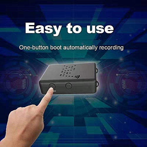 2019 New Smart 4K 1080P HD Mini Camera Smallest XD WiFi Mini Camcorder IR  Night Vision Micro Cam Motion Detection XW Car DVR (without memory)( )