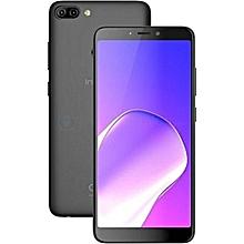 "HOT 6 [x606B] - [16GB+1GB RAM] 6.0"" - 13+5MP-Face ID+Finger Priint - 4000mAh Battery - Dual SIM-Sandstone Black"