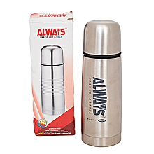 Stainless Steel Silver Thermos Flask Jug - 500ml .