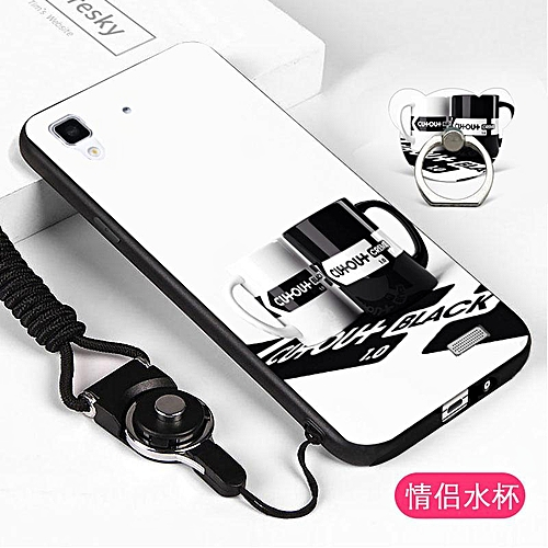 brand new b4995 b5158 Soft Case For OPPO R7 Pink Animal Case Phone Stand Ring