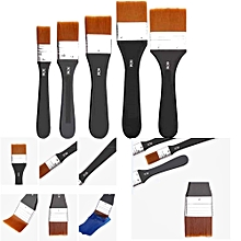 5 Piece Paint Brush Set Professional Decorating nylon DIY Brushes