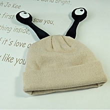 Winter and Autumn Cute Tentacles Insect Hat Baby Warm Cartoon Knit Cap