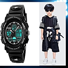SKMEI 1163 Children's Watches Fashion Sport Waterproof Wristwatches Dual Time LED Analog Digital Quartz Watch For Boys Kids