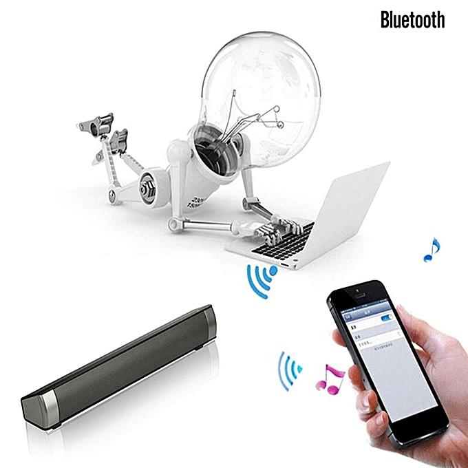 ... Wireless Bluetooth Home Theater Soundbar Subwoofer Multimedia Speaker System ...
