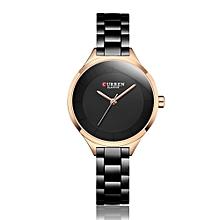 dbf36d5b0 CURREN 9015 Women Watch New Quartz Top Brand Luxury Fashion Wristwatches  Ladies Gift