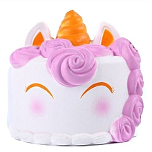 Jumbo Squishy Cute Unicorn Cake Squishies Super Slow Rising Toy - Multi