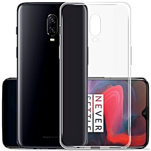Protective Cover Phone Case for OnePlus 6T High Quality TPU Phone Shell Soft Transparent Durable Anti-scratch Anti-dust
