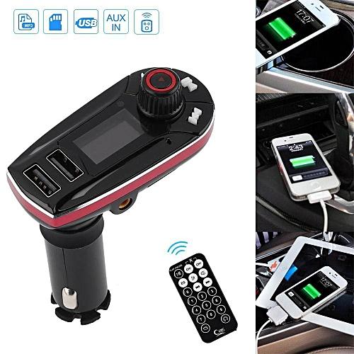 Bluetooth Wireless FM Transmitter MP3 Music Player Handsfree Car Kit USB LBQ