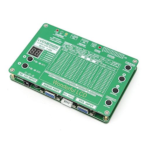 Laptop LCD/LED Test Tool Kit Panel Screen Tester+ 6PCS Lvds Cables +  Inverter