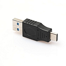 Fovibery 1Pcs Hi Speed Plated USB3.1 Type Cto USB2.0 A Male Data Sync Charge For Oneplus3