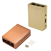 Bronze/Red Copper Aluminum Alloy Case Shell For Raspberry Pi 3 Pi 2 B+  Bronze