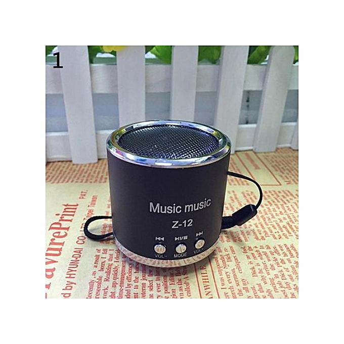 Speaker portable wireless mini SD TF card MP3 player micro sd card 3 5mm  audio cable