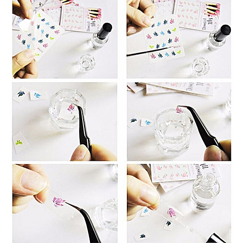 Buy Zlime 50pcslot Nail Art Tips Decals Water Transfer Mixed