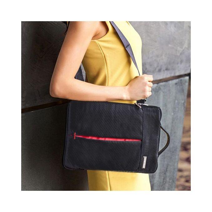 magideal laptop sleeve carry bag cover w shoulder strap for macbook air pro 13 grey buy. Black Bedroom Furniture Sets. Home Design Ideas