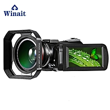 Winait UHD 4k WIFI digital video camera with 3.0'' Touch display wifi night vision digital video camcorder free shipping LIEGE