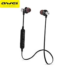 AWEI A860BL Sport Wireless Bluetooth 4.0 Earphone Headset Hands Free With Mic For IOS Android Phone
