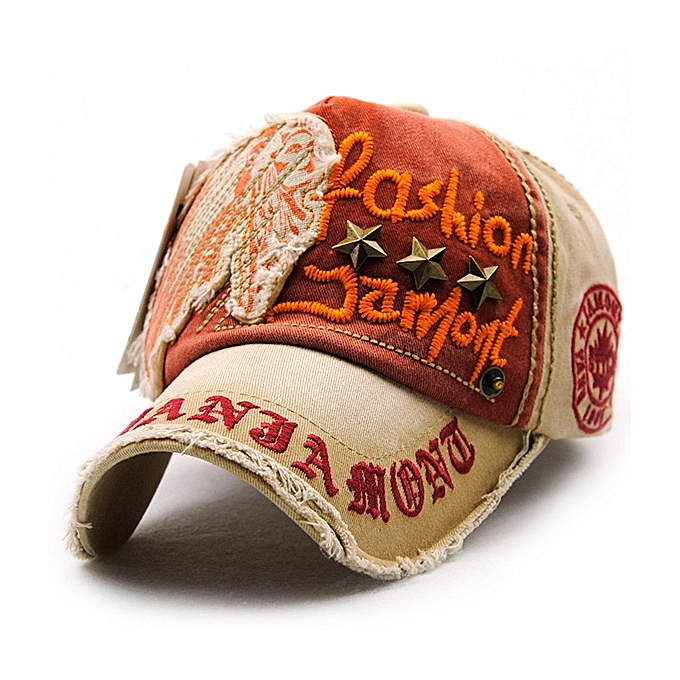 Unisex Cotton Washed Vintage Embroidery Baseball Cap Adjustable Golf  Snapback Hat For Men Women 9d52436ca