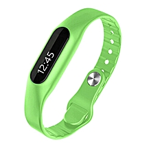 Smart Wristband E06 Touch Screen Mi Band Bracelet Fitness Tracker  (Color:Green)