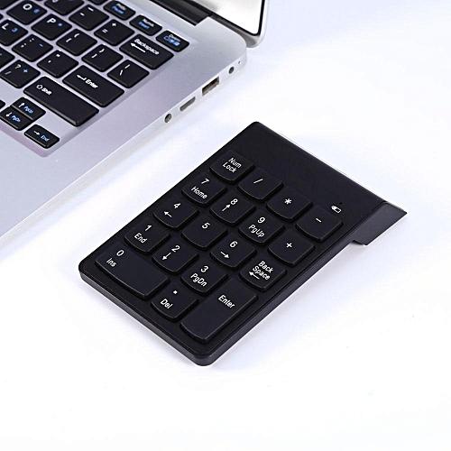 52d281f8fbf UNIVERSAL Wireless Bluetooth Number Pad Numeric Keypad 18 Keys Digital  Keyboard for Laptop