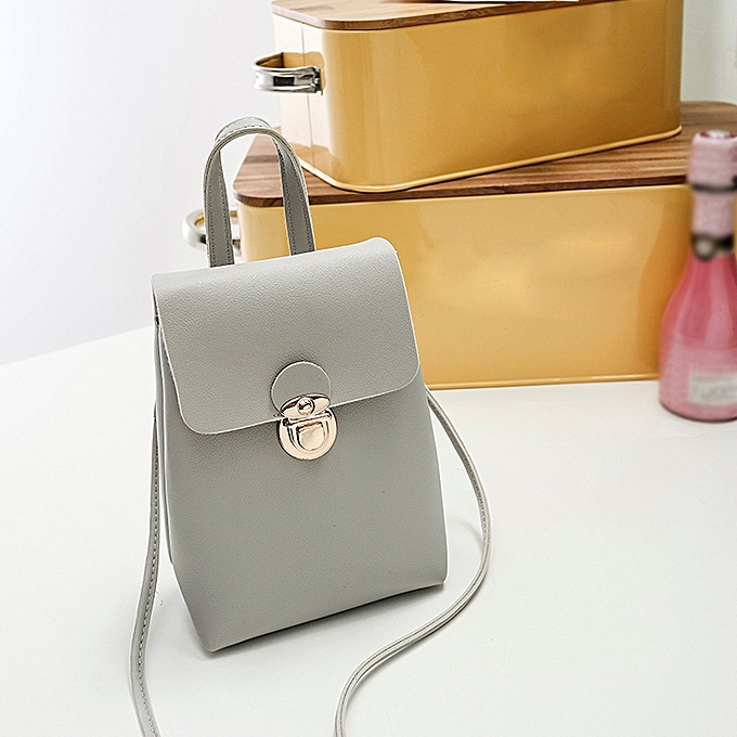 5fef72e0e826 koaisd Women Pure Color Shoulder Bag Messenger Satchel Tote Crossbody Bag  Phone Bag