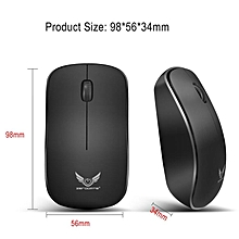 Zerodate 2.4Ghz Wireless Mouse 1600DPI 3 Keys Gaming Mouse Ergonomic Optical Mouse for PC Laptop