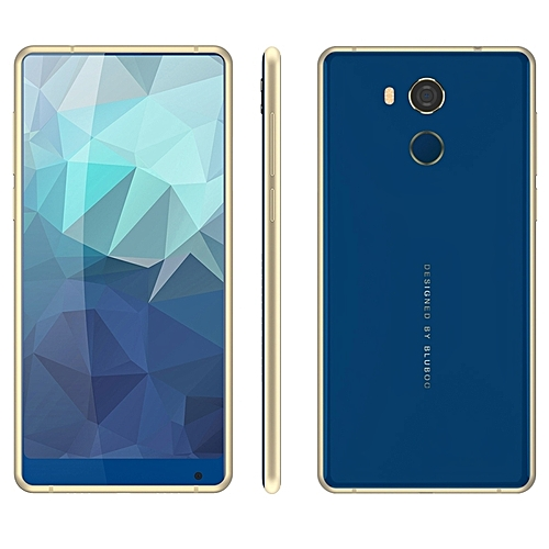 D5 Pro 3GB+32GB Fingerprint Identification 5.5 Inch Android 7.0 MTK6737 Quad Core Up To 1.3GHz 4G Smartphone(Blue)