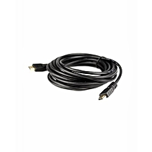 HDMI to HDMI Cable  10M - Black