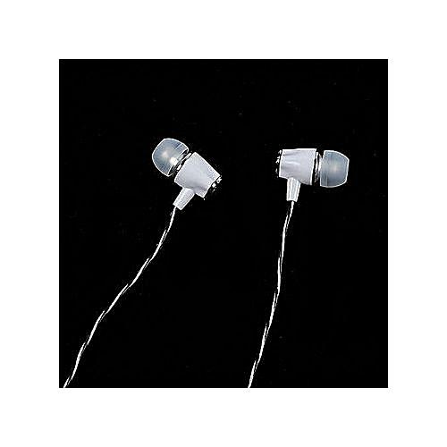 Universal Straight Plug In-Ear Earphone-Black