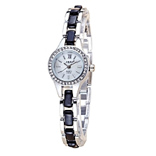 guoaivo SBAO Fashion High - end Watches Round Dial Bracelet Table Women 's Watches - Multicolor E