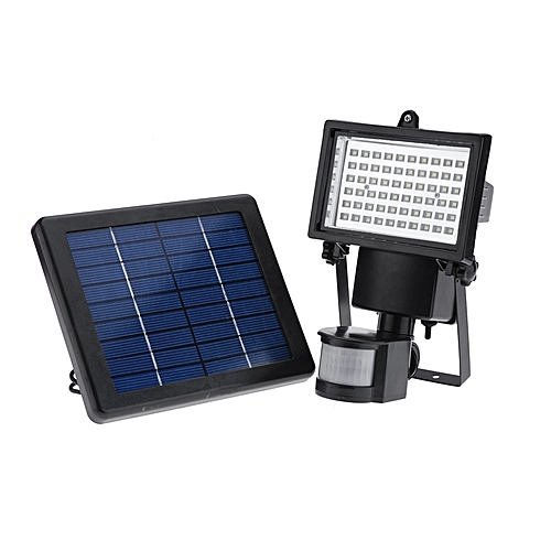 Awesome 60 LED Solar Motion Activated Flood Light Security Outdoors Waterproof Set Top Design - Amazing best solar powered motion security light Ideas