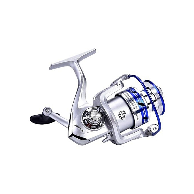 Salt Freshwater Metal Heavy Duty Lightweight Casting Spinning Fishing Reel  Tackle (#5000)